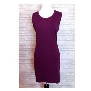 4 for $25 dark purple fitted dress with pockets